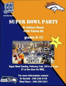 super bowl party 2014-1