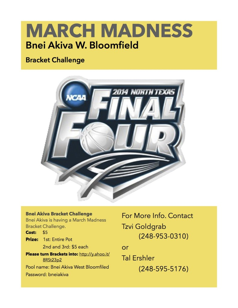 March Madness flyer revision