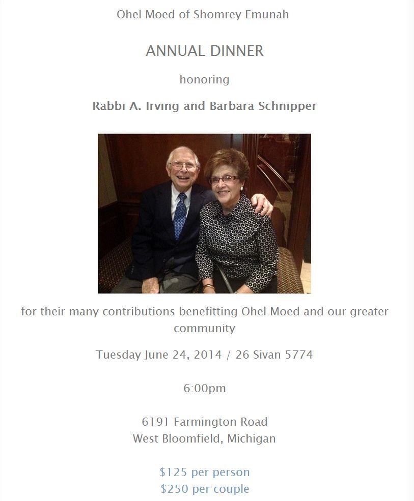 Dinner Info