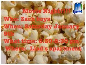 Updated boys movie night info