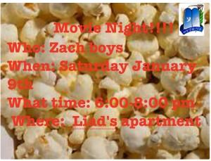 Zach Boys Movie Night