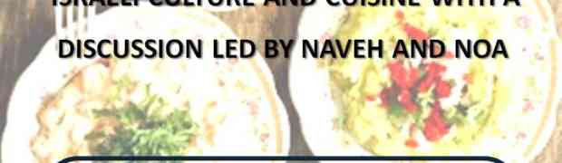 Event for adults with Naveh and Noa